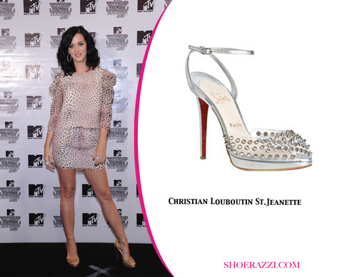 Katy in Louboutins