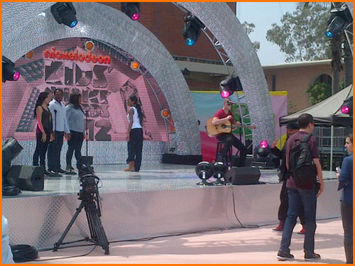 Keke Palmer Rehearses For the KCA 2012!
