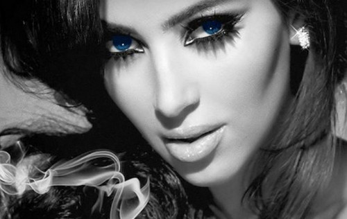 Kim Kardashian Smokey Eye Pic - kim-kardashian Photo