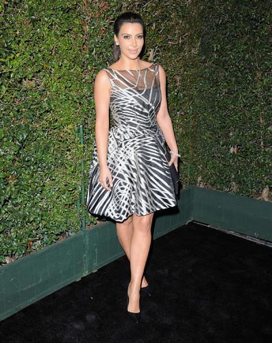 Kim Kardashian at Valentino Rodeo Drive Flagship Opening