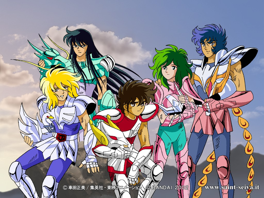 Saint Seiya Knights Of The Zodiac Wallpaper With Anime Called