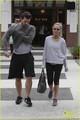 Kristin Chenoweth: Gym Training Day