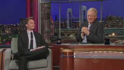 Late Show with David Letterman - neil-patrick-harris Screencap