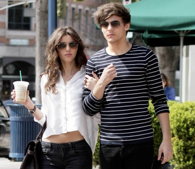 Louis Tomlinson wallpaper containing a hip boot titled Lou & Eleanor. ♥