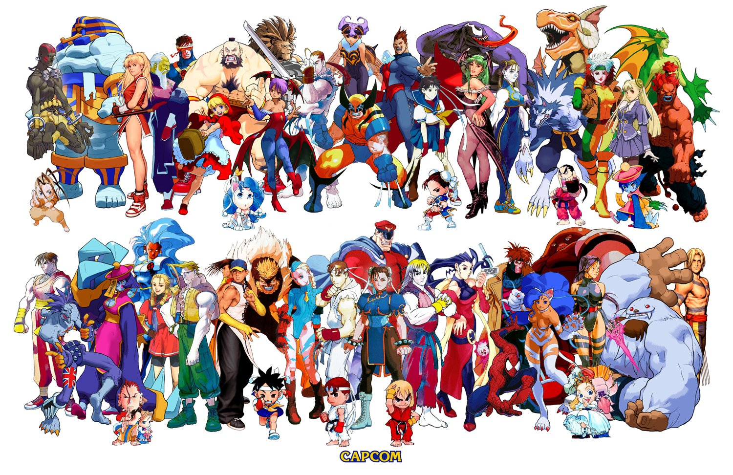 Series crossovers marvel vs capcom
