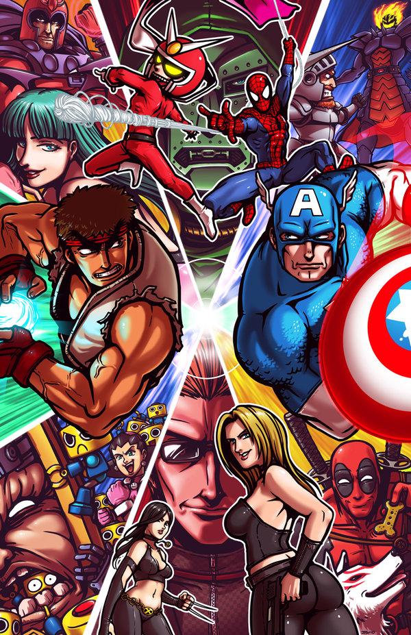 Series Crossovers Images Marvel Vs Capcom Hd Wallpaper