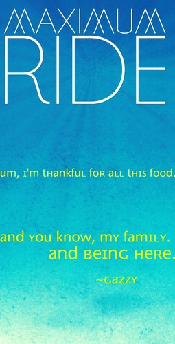 Maximum Ride 바탕화면 called Maximum Ride Quote