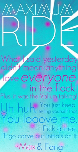 Maximum Ride 바탕화면 titled Maximum Ride Quote