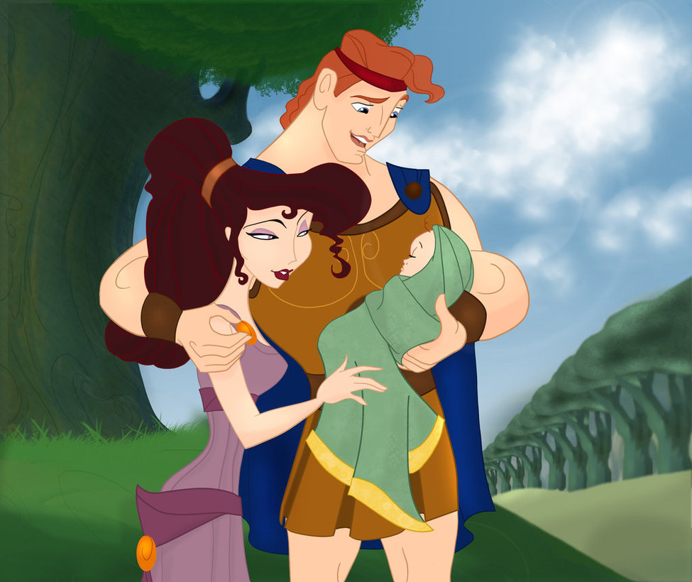 Meg and Hercules family