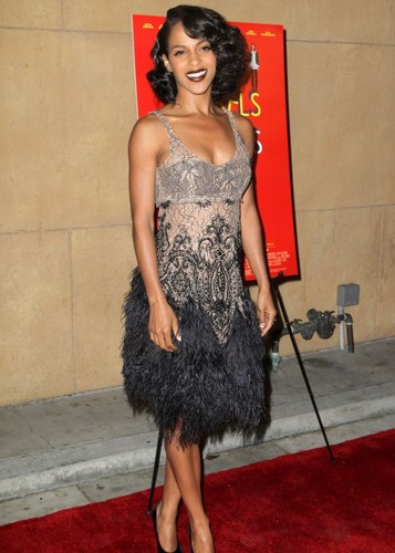 "Megalyn @ 'Damsels In Distress"" LA Premiere"