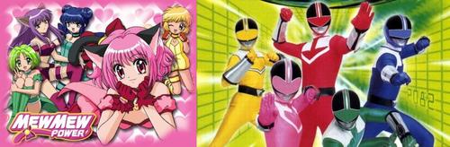 Mew Mew Power and Power Rangers