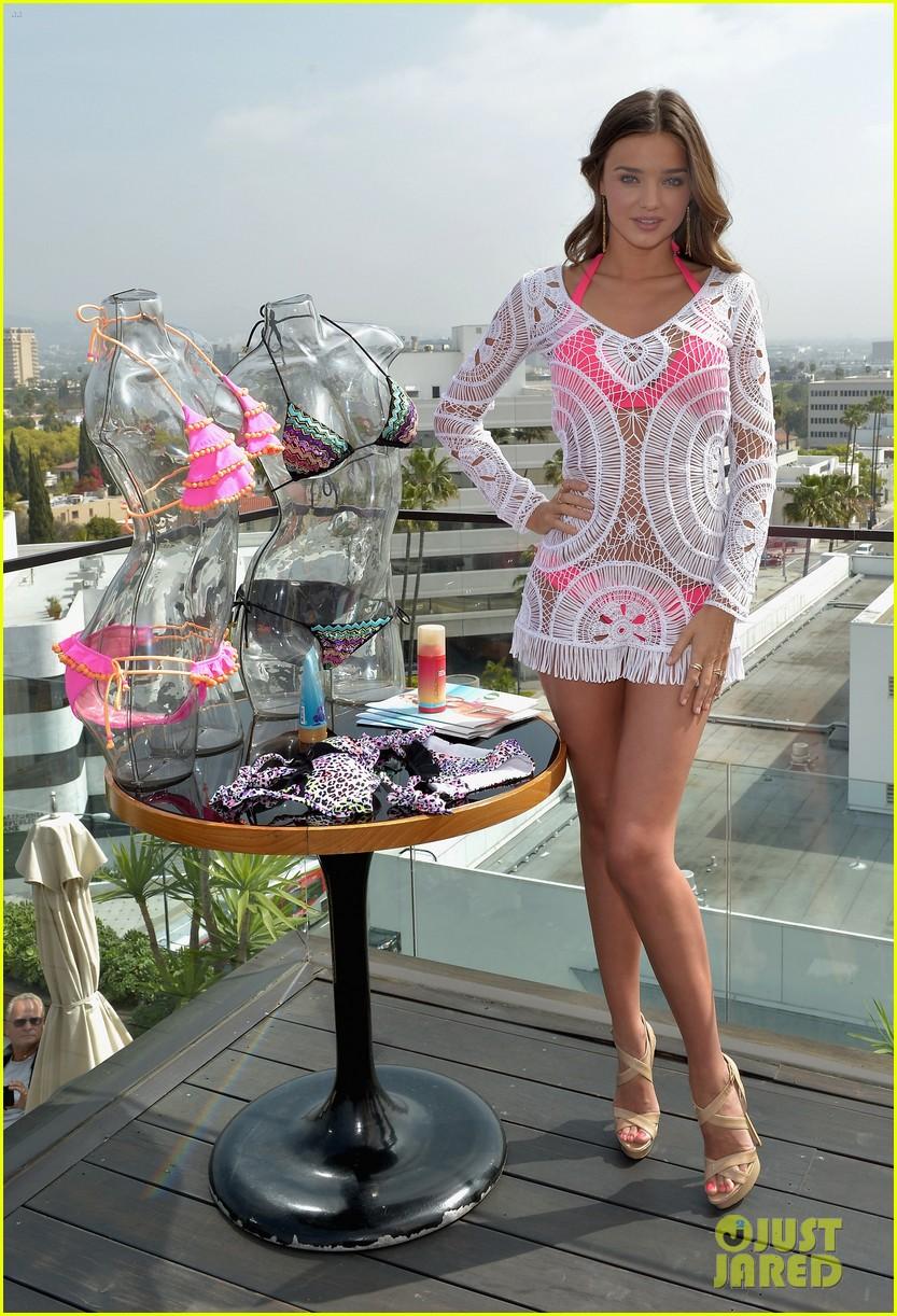 Miranda Kerr: VS Swim Collection Launch with Candice ... Miranda Kerr Collection