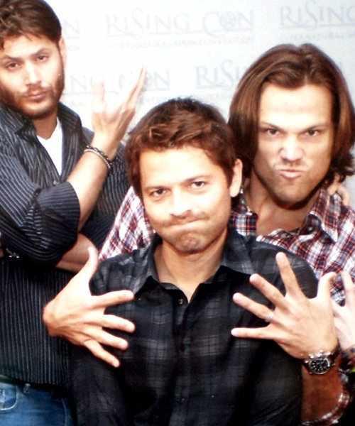 Misha&Jared - Jared Padalecki & Misha Collins Photo ...