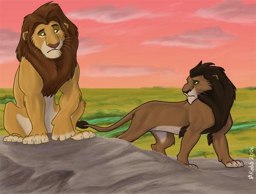 Mufasa vs. Scar