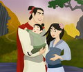 Mulan and Shang Family
