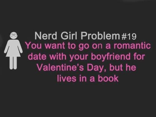 Nerd Girl Problem - peeta-mellark Fan Art