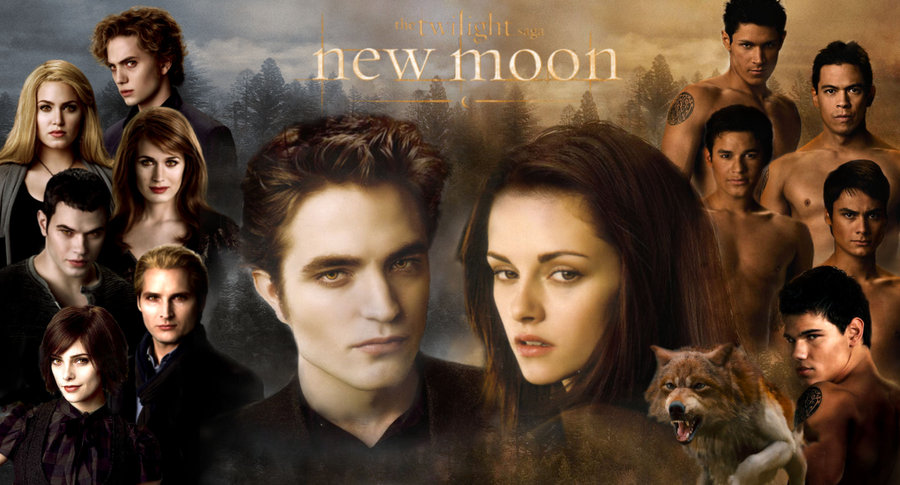 Twilight Cast New Moon Twilight Series New Moon