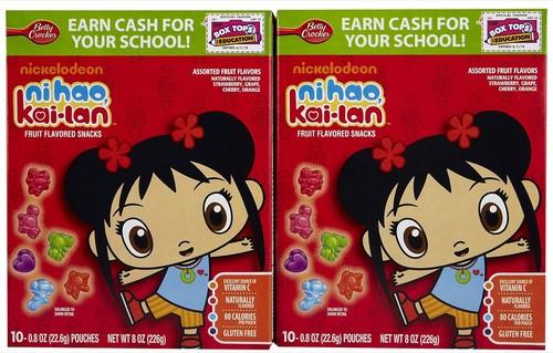 Ni Hao, Kai-Lan 과일 Flavored Snacks