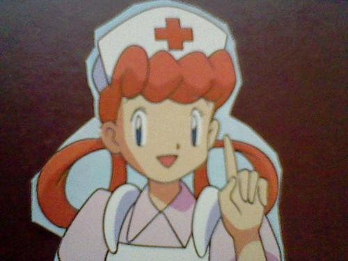 Nurse Joy (framed from DSI)