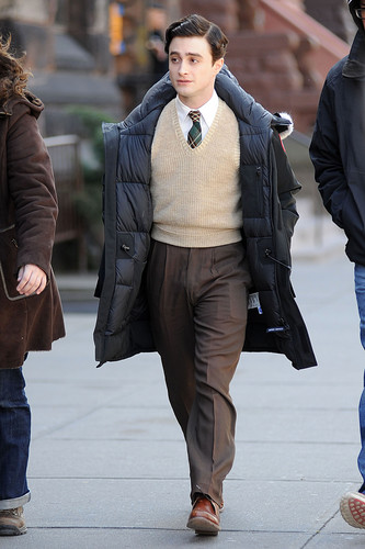 On the set of «Kill Your Darlings» - March 27, 2012 - HQ