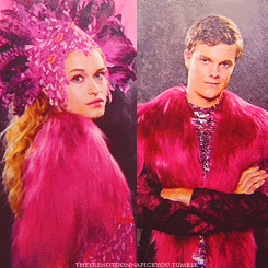 The Hunger Games Movie wallpaper called Opening Ceremony Costumes