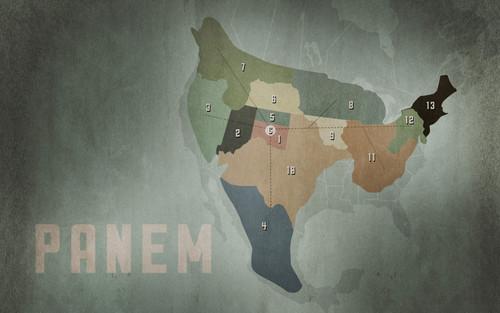 Hunger Games Panem Map
