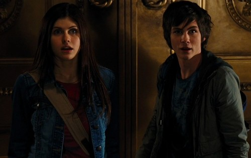 Percy Jackson And Annabeth Chase wallpaper probably with a well dressed person called Percy Jackson And Annabeth Chase
