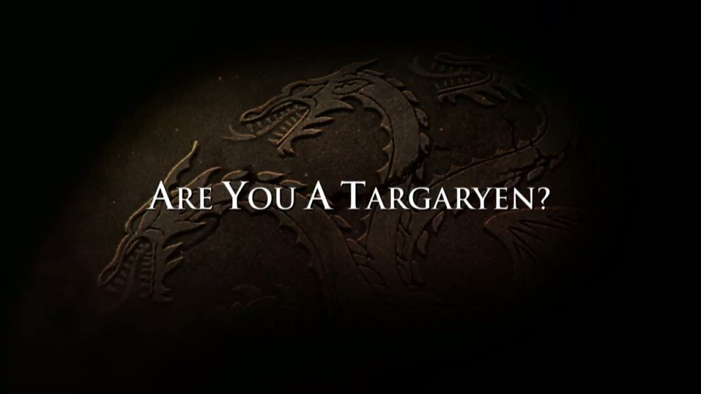 Pledge Your Allegiance House Targaryen Game Of Thrones