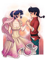 Ranma and Akane - anime-couples photo