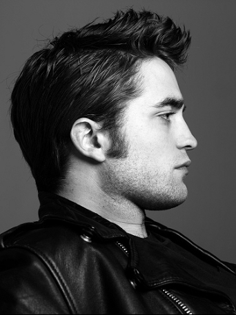 Robert Pattinson kertas dinding called Rob Patz Black And White