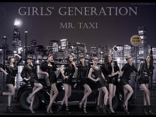 SNSD fond d'écran Mr Taxi