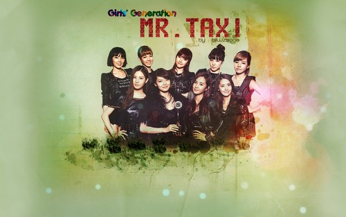 SNSD Wallpaper Mr Taxi - girls-generation-snsd Wallpaper