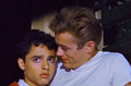 Sal Mineo and James Dean