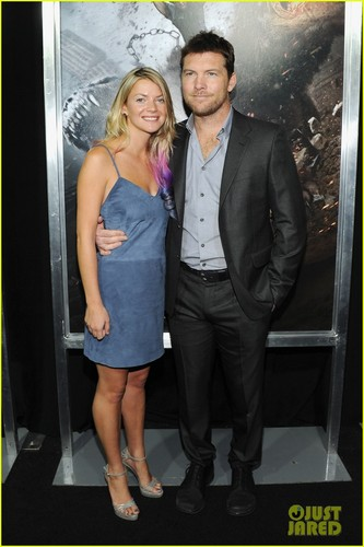 Sam Worthington Premieres 'Wrath of the Titans' in NYC