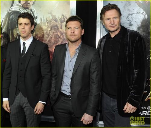 Sam Worthington Premieres 'Wrath of the Titans' in NYC