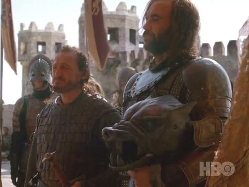 Sandor and Bronn
