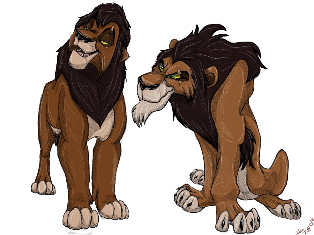 The lion king scar and kovu - photo#3