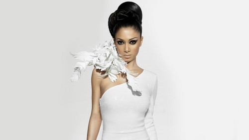 Nicole Scherzinger wallpaper possibly containing a cocktail dress called Scherzinger