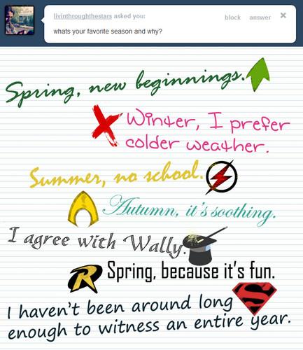 Seasons!