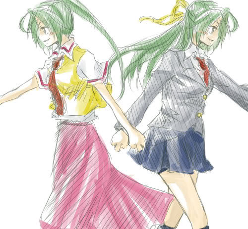 Shion and Mion - Hand par hand