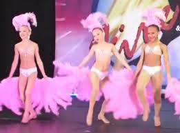 Showgirl dance