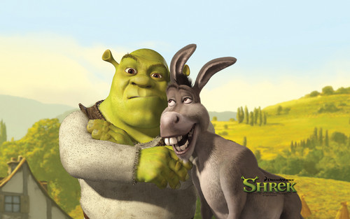 Shrek with vrienden