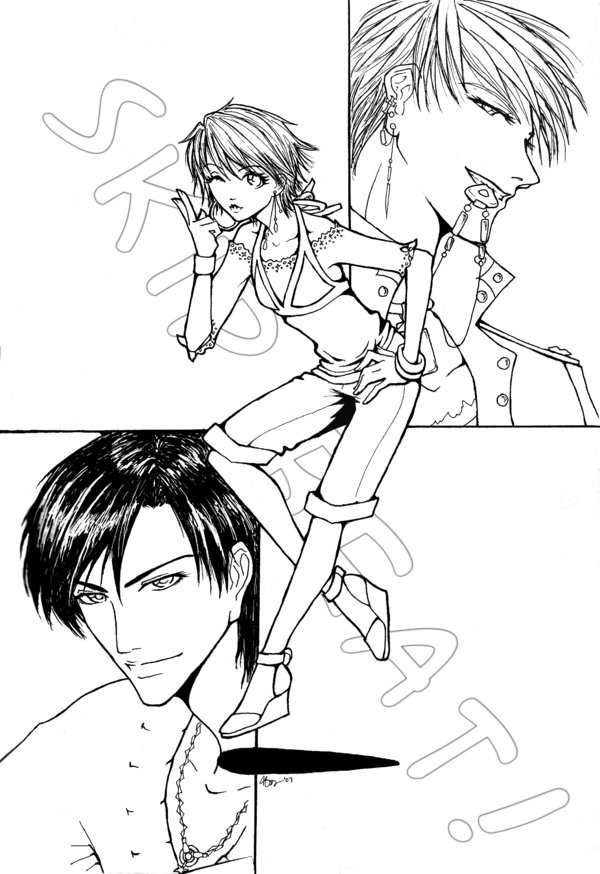 skip beat coloring pages - photo#1