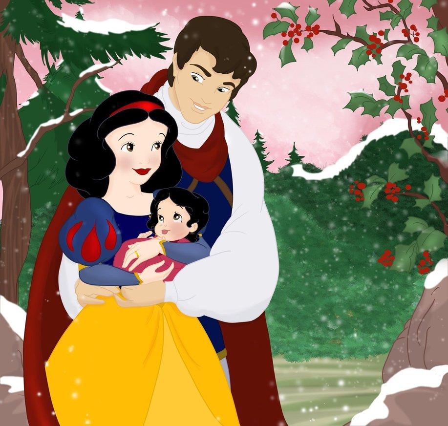 Pin Disney Princess Snow White Family On Pinterest