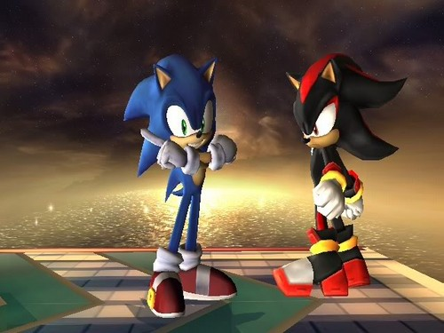 Sonic Shadow And Silver Wallpaper Titled