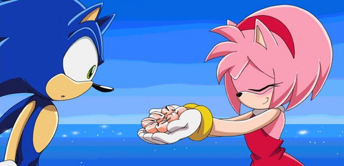 Sonic and Amy images Sonic and Amy HD wallpaper and background photos