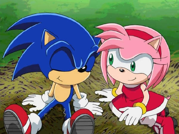 how did sonic meet amy