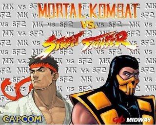 mitaani, mtaa Fighter and Mortal Kombat