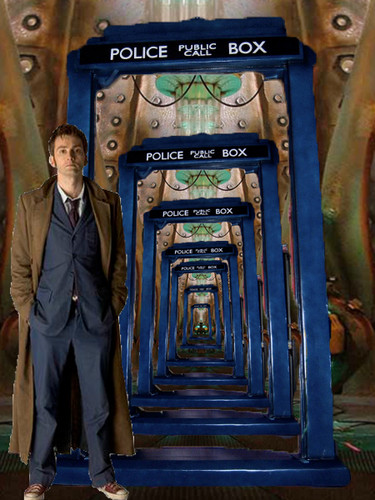doctor who wallpaper titled TARDIS in a TARDIS