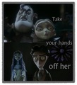 Take Your Hands Off Her (made by me) ^-^ - victor-van-dort-and-victoria-everglot fan art